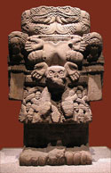 Pic 7: Statue of Coatlicue, National Museum of Anthropology, Mexico City