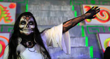 Pic 19: La Llorona performed at Xochimilco, 2018