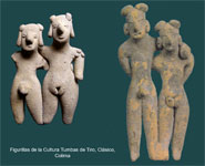 Pic 3: Ceramic figurines from the Tumbas de Tiro culture, Classic Period, Colima, West Mexico