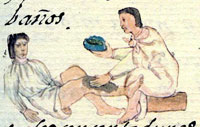 Pic 2: Treating a broken leg; Florentine Codex