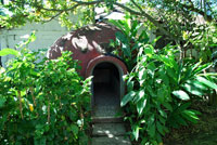Pic 6: A modern Aztec-style steam bath at La Chonita Hacienda in Tabasco