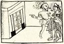 Montezuma leads Cortés to his treasure house; Florentine Codex, Book XII