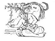 Pic 2: Maya scribe