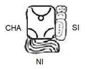 Pic 4: 'Janice' written in Maya glyphs