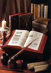 Pic 3: Studio reconstruction of the Florentine Codex (3-vol facsimile)