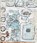 Pic 5: Cha'ak depicted in the Madrid Codex, plate 6