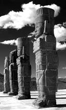 Pic 18: The 'atlantes' of Tula (Pyramid B)