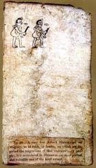 Page XXII of the Codex Boturini, in the Biblioteca Nacional de Antropología e Historia, Mexico City