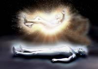 Pic 5: Artist's conception of an astral traveling experience. During astral projection the astral body leaves the physical