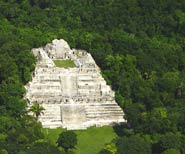 "Pic 11: The Maya site of Caracol (Spanish for ""snail"") is the largest Maya city in Belize and is home to the biggest man-made structure in the country"