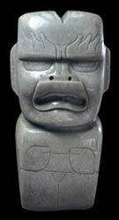 Pic 7: Olmec jade axe; © Trustees of the British Museum