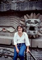 Pic 8: Stephanie Wood at Teotihuacan in 1979