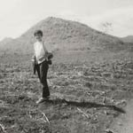 Pic 11: Jane Walsh on her first archaeology field trip to Mirador, Chiapas, 1968