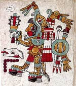 Pic 3: The great ruler Eight Deer, Jaguar Claw; Codex Nuttall, plate 48 (detail)