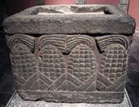 Pic 4: 'Cosmic sustenance': an Aztec stone maize altar, Museo Nacional de Antropología, Mexico City