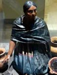 Pic 3: Model of Mexican market woman pot seller, Museo de las Américas, Madrid
