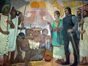 Pic 4: Detail from a mural by Antonio González Orozco, Hospital de Jesús Nazareno, Mexico City