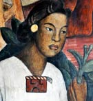 Pic 8: Detail from a mural by Diego Rivera, Palacio Nacional, Mexico City