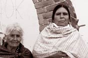 Pic 11: Two women from San Isidro Buensuceso, near Puebla, a village where Nahuatl is widely spoken