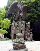 Pic 7: Estatua de la fundación de Tenochtitlán, Ciudad de México, por Carlos Marquina