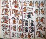 Pic 10: Página 36 del Códice Vindobonensis, otro códice mixteco con los nombres y lugares de nacimiento de protagonistas claves