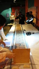 Pic 2: The original codex is prepared for exhibition in Mexico City in 2014