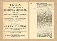 Pic 10: Title page and p. 70 of Boturini's 'Idea de una Nueva Historia General...'