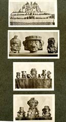 Pic 6: 'It was easy at this time to start a collection...': 'Mixtec Jade Idols and Heads, Zapotec Idols, Mixtec Pottery' - part of the collection of Constantine George Rickards