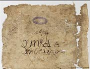 Pic 11: Fragment of the Codex Xolotl, signed and dated by Joseph Aubin; image © 2017 Jerome A. Offner, courtesy Bibliothèque Nationale de France