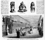 Pic 15: Display of objects gathered by the Commission scientifique du Mexique, from Le Monde illustré, 31 August 1867