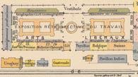 Pic 3: Plan of he section 'du Travail', Exposition Universelle, Paris