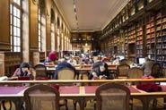 Pic 8: Richelieu Library - Manuscripts Reading Room, Blbiothèque Nationale de France, Paris