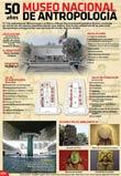 Pic 14: Poster announcing the 50th anniversary of the founding of Mexico's Museo Nacional de Antropología e Historia