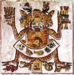Pic 6: Codex Borgia, pl. 53 (detail) showing Deer as icon par excellence