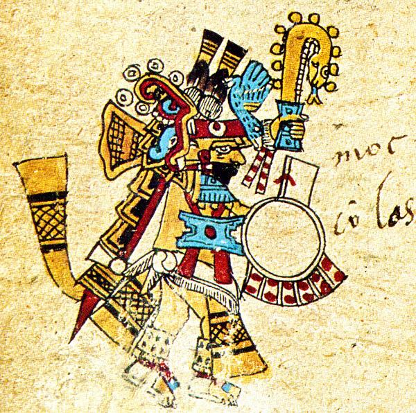 Pic 4 Xiuhtecuhtli  Lord of Xiuhtecuhtli Aztec God Of Fire