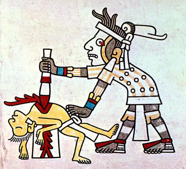 Mayan Human Sacrifice Knife