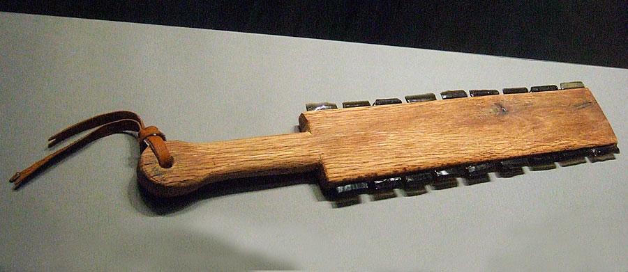The Maquahuiti - The Aztec Broadsword - Brinker's Museum