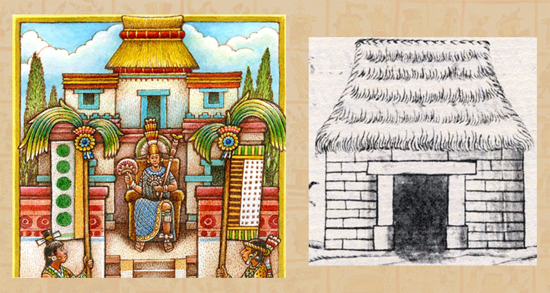 Pictures of aztecs homes