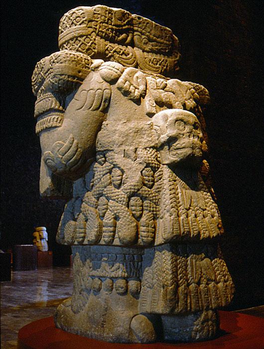 "coatlicue s rules advice from an aztec goddess Coatlicue ( classical nahuatl: cōātl īcue, nahuatl pronunciation: [ koːaːˈtɬíːkʷe], ""skirt of snakes""), also known as teteoh innan (classical nahuatl: tēteoh īnnān, pronounced [teːˌtéoʔ ˈíːnːaːn̥], ""mother of the gods""), is the aztec goddess who gave birth to the moon, stars, and huitzilopochtli."