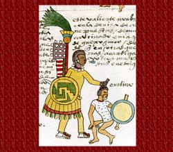 Pic 4: Quachic rank officer, Codex Mendoza