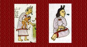 Pic 7: Ear adornments, Codex Mendoza