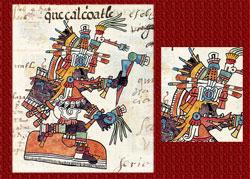 Pic 8: Quetzalcóatl in the Codex Telleriano-Remensis