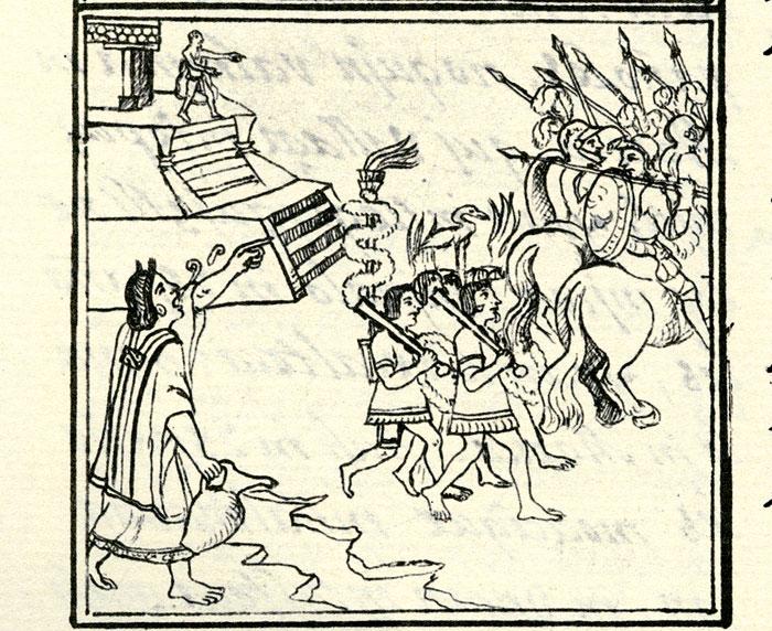 conquistador spanish aztec