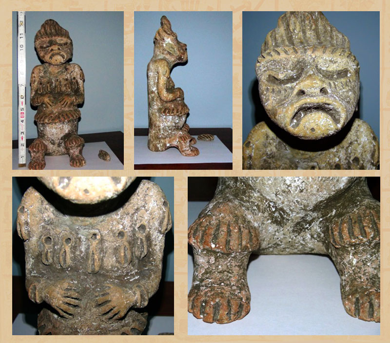 Statue from Tamazula