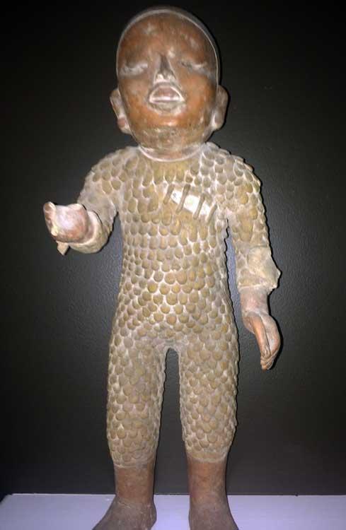 Xipe Totec statue