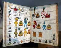 Codex Mendoza original on display