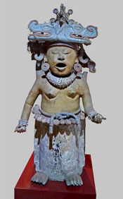 Cihuateotl figure from Central Veracruz