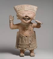 Smiling figure from Veracruz