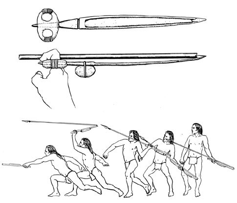 Spear throwers