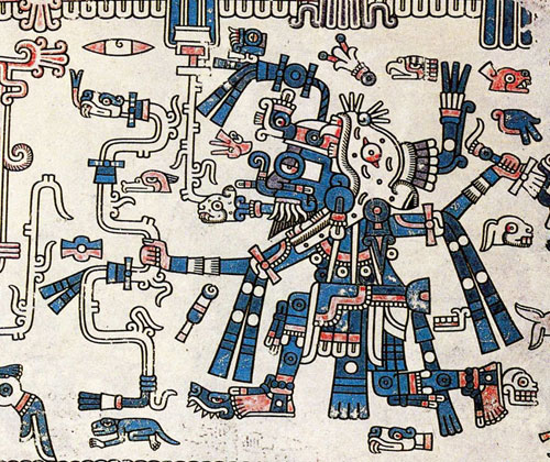 How did Mexica gods survive the Conquest?